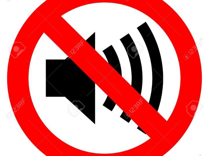 Υπερβολικός θόρυβος και αγνόηση των παρακλήσεων για συμμόρφωση