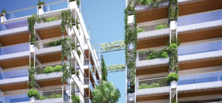 Οι δίδυμες πολυκατοικίες της Θεσσαλονίκης που κρύβουν τα ωραιότερα διαμερίσματα της πόλης -Και τα πιο πράσινα [εικόνες]
